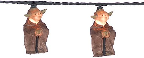 Yoda Christmas lights to rock your geek tree