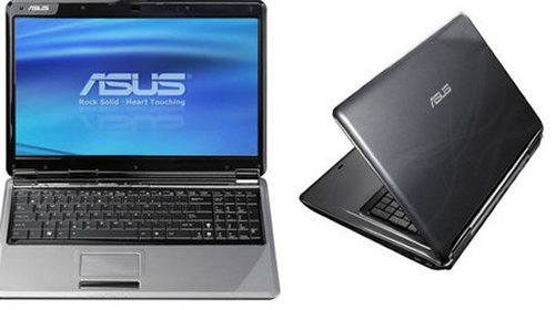 Asus F70SL 17.3 notebook with dual hard drives