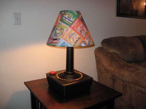 Giant Atari Joystick Lamp is the ultimate in nerd lighting