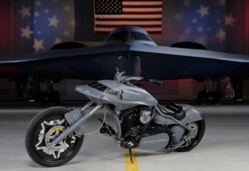 Stealth Bomber Cycle: Flying on two wheels