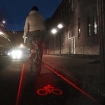 Create your own bike lane with LightLane