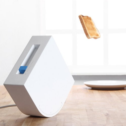 Trebuchet Toaster flings your bread across the room