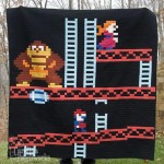 The Donkey Kong quilt looks pretty comfy