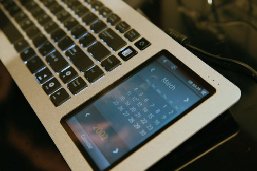 Eee keyboard: A touchscreen Home Theater PC