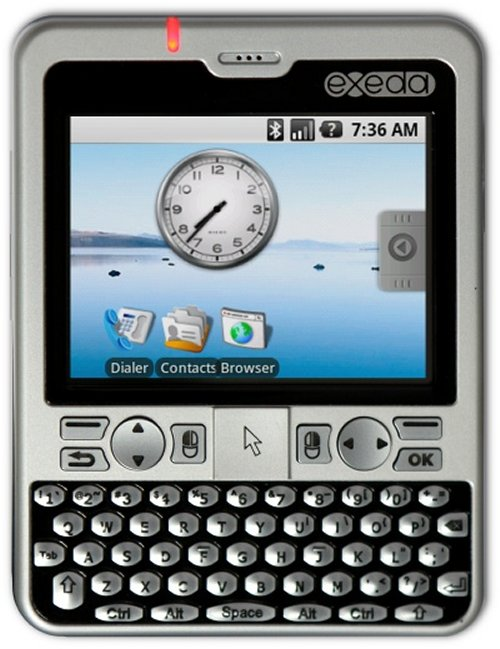 Compulab unveils exeda Android / WinMo handheld