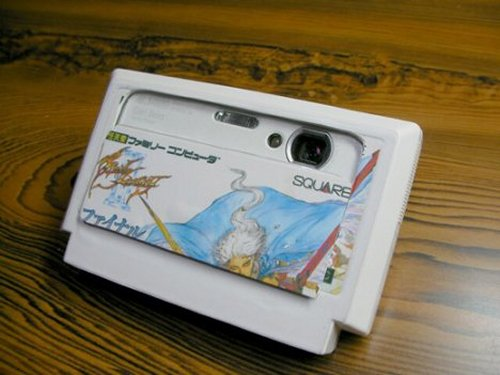 Famicom cartridge becomes a Digital Camera