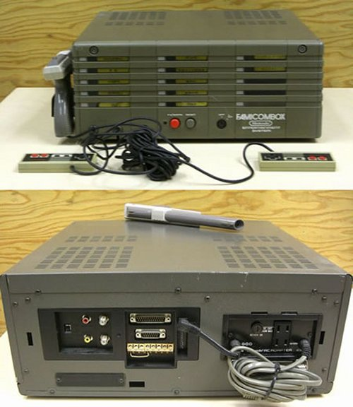 Famicombox: An NES with 15 cartridges built-in