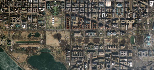 GeoEye-1 Satellite Image