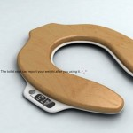 Toilet Seat Scale allows you watch as you lose weight