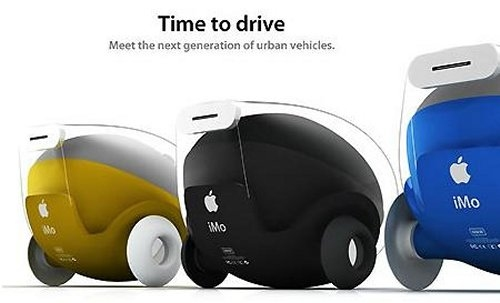 iMo is like a tiny Apple car