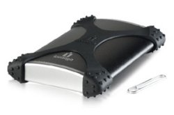 Iomega eGo BlackBelt portable hard drive