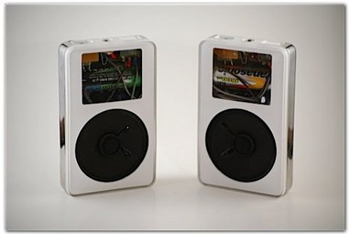 iPods turned into iPod speakers