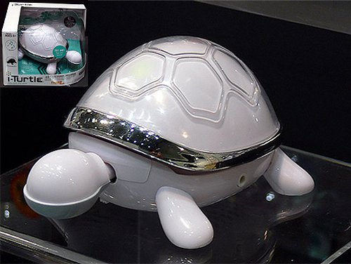 The I-Turtle grooves to your tunes
