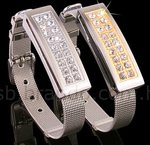 USB Jewel Bracelet thumb drive