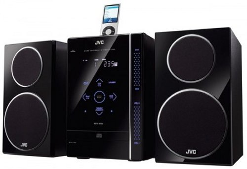 JVC's new boomboxes with touch control, iPod integration