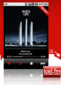 Last.fm Android Application