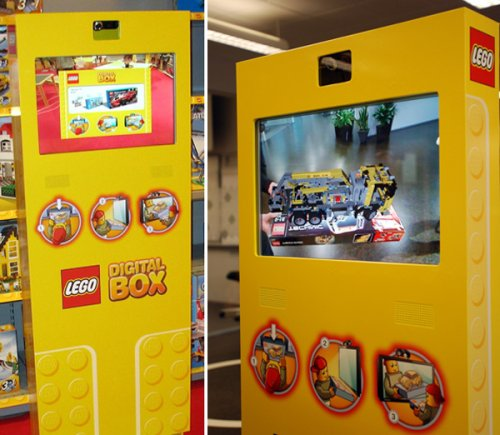 Lego Digital Box makes 3D models