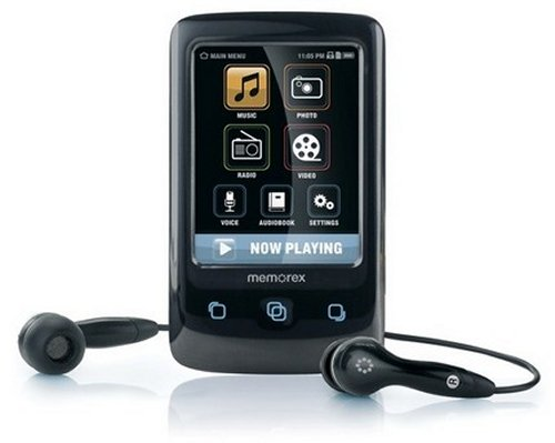 Memorex TouchMP touchscreen media player