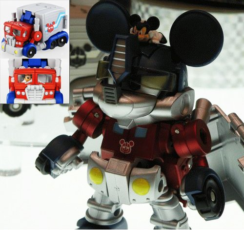 Mickey Mouse Transformer hits Japan