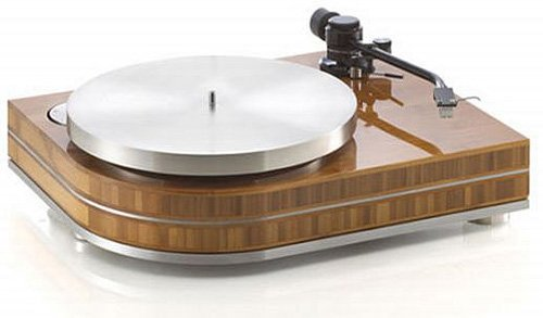 Montegiro's Legno luxury wooden turntable