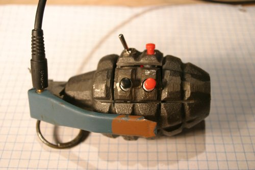 DIY Grenade MP3 player is the bomb