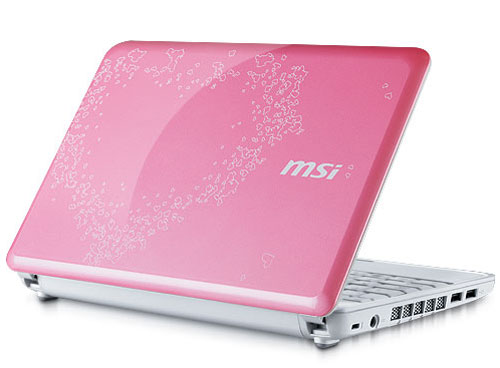 MSI Wind Valentine's Edition