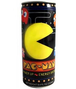Pac Man energy drink