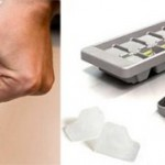 Quiksnap ice tray gives you one cube at a time