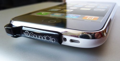 SoundClip boosts your iPhone's audio