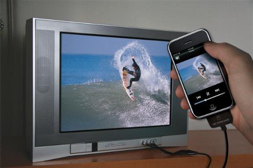 showTIME connects your iPhone to your TV