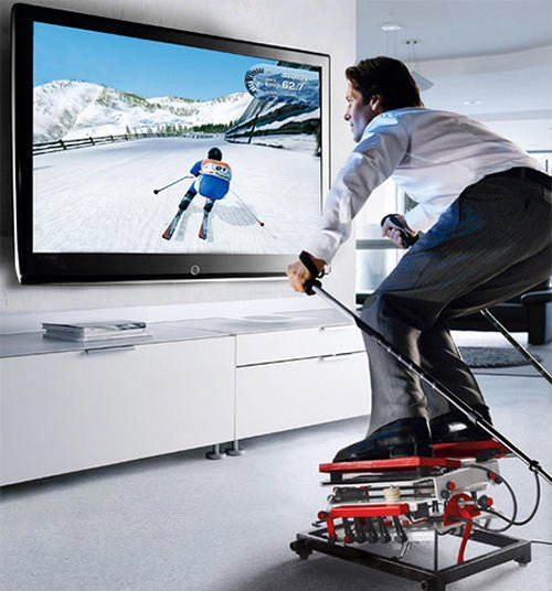 Ski Home Simulator