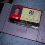 Super Nintendo cartridge wallet