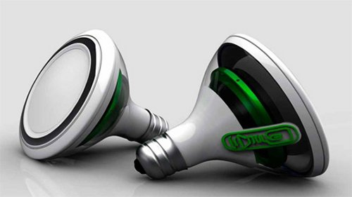 SoundBulb is a light bulb and a speaker