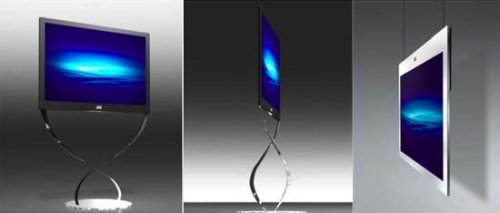 JVC's 32-7mm thin LCD is the lightest in the world