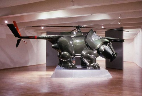 Triceracopter: The helicopter de-volved