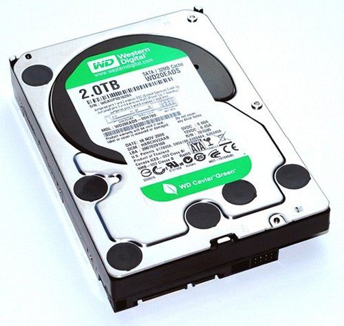 Western Digital launches 2TB Caviar Green hard drive