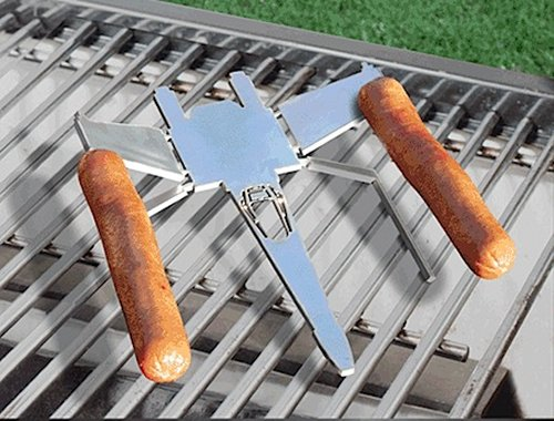 X-Wing hot dog griller puts a whole new twist on the Death Star battle scene
