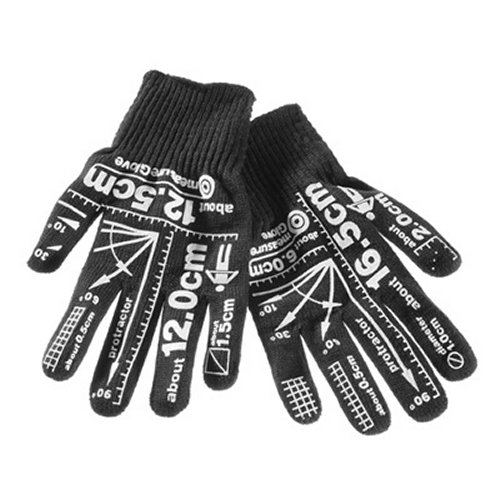 Measurement Gloves keep measurements at your fingertips