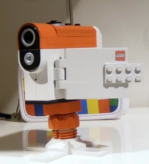 Lego camcorder spotted