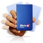IDrive portable HDD backs up your files online