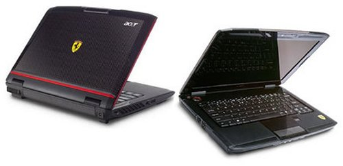 Acer Ferrari 1200 laptop