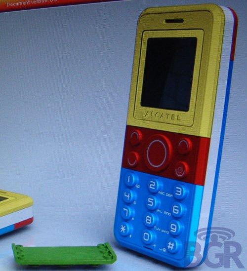 Alcatel + Lego = Lego phone