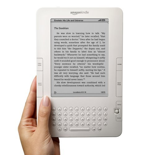 Kindle gets 85% more battery Life, PDF support