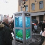 Phone Booth Aquarium is how Aquaman changes costume