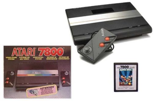 The Atari 7800 was Atari's chance at redemption in 1986.