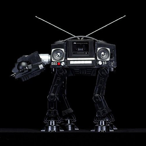 AT-AT Boombox destroys the rebellion with sound