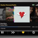 Slacker BlackBerry Storm streaming radio app released