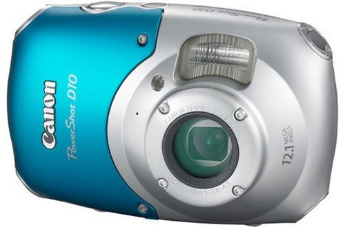 Canon PowerShot D10 is tough, looks odd