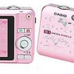 Casio 9.1 Megapixel Hello Kitty edition with crystals