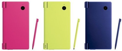 Nintendo DSi now in 3 more colors